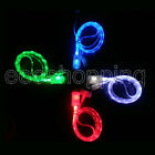For Samsung Galaxy S2 S3 HTC Note2 LED Light Micro USB Charging Data Sync Cable