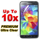 10x New Ultra Clear LCD Screen Protector Film Guard for Samsung Galaxy S5 4G