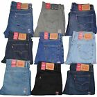 Levis 514 Mens Jeans Slim Fit Straight Leg Many Colors Many