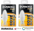 Duracell 4W = 25w LED Candle Frosted Energy Saving ECO Lamp - E14  SES / B22 BC