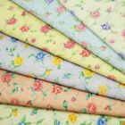 Wilma's Rose Floral Flowers Garden Polycotton Fabric