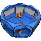 OxGord 45 Pet Dog Cat Playpen Tent Portable Exercise Fence Kennel Cage Crate