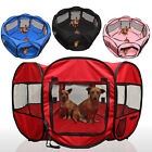 "OxGord 45"" Pet Dog Cat Playpen Tent Portable Exercise Fence Kennel Cage Crate"
