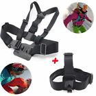 Chest Strap-Mount + Head Belt Strap For GoPro HD Hero 2 3 Camera Accessories T5
