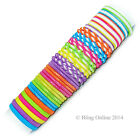 VALUE PACK UPTO 50pcs GIRLS 4cm THIN HAIR ELASTICS BANDS BOBBLE SCHOOL PONY TAIL