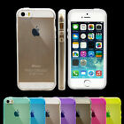Ultra Clear Transparent Silicone Case Cover Gel for Apple iPhone 5S 5G 5