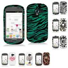 For Samsung Galaxy Exhibit T599 Hard Design Rubberized Case Cover Accessory