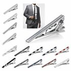 Gentleman Silver Metal Simple Necktie Tie Clip Bar Clasp Practical Plain