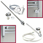 Dual Fuel Heating Electric Element Heated Towel Rail Conversion Themostatic Watt