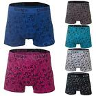 New Mens Cotton Boxer Shorts Trunks Novelty Boxers Briefs Sexy Underwear Size S
