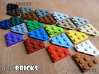 5 x LEGO Wedge Plates 3x3 Cut Corner (Part 2450) + SELECT COLOUR ++ FREE POSTAGE