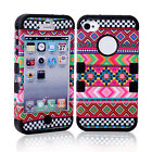 FASHION  Design DECORATED Hybrid BACK Cover DELICATE Case  For Apple iPhone 4/4S