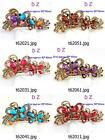 t620m76 Fashion Women Butterfly Crystal Rhinestone Barrette Hair Clip Hairpin