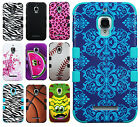 For Alcatel ONETOUCH Fierce IMPACT TUFF HYBRID Protector Case Skin Phone Cover