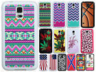 Samsung Galaxy S5 TPU Gel GUMMY Hard Skin Case Phone Cover + Screen Protector