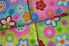 BRIGHT FUNKY FLOWER - PRINTED POLYCOTTON FABRIC - WIDTH 112 CM - Free UK p&p