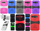 Alcatel One Touch Sonic LTE Rubber KICK STAND Rubber Case Phone Cover Accessory