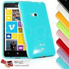 New TPU Gel Jelly/Rubber Phone Case Cover For New Nokia Lumia 625
