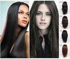 "Chic 14-30"" AAAA 100% Real Remy Brazilan  Straight Hair Human Front Lace Wigs"