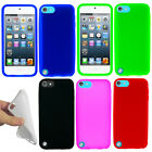 For Apple iPod Touch 5 (5th Generation) Color SILICONE Soft Gel Skin Case Cover