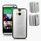 Soft Slim Matte TPU Silicone Gel Bumper Hard Case Cover for HTC One M8 AUS