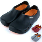 Men Chef Shoes Hole Kitchen Hospital Nonslip Safety shoes on Oil Water Safety