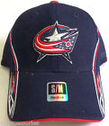 NHL Columbus Blue Jackets Reebok Structured Curve Brim Cap Hat NEW