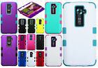 For LG G2 4G LTE HARD Rubber IMPACT TUFF HYBRID Skin Phone Cover Accessory