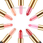 10 Nude Colors Makeup Rouge Long-lasting Bright Lipstick Lip Balm gloss Cosmetic