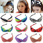 Chic Women Chiffon Turban Twist Head Wrap Headband Twisted Knotted Hair Band NEW