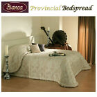 Provincial Gold Jacquard Bedspread - SINGLE King Single DOUBLE QUEEN KING