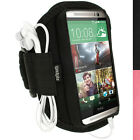 Neopren Sports Armband für HTC One M8 2014 Fitness Joggen Tasche Gym Hülle Cover