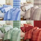 Dreams 'N' Drapes Glencoe Check Print Duvet Cover Set