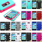 TUFF Hybrid SnapOn Protector Phone Cover Case C-1 for LG OPTIMUS SHOWTIME L86C