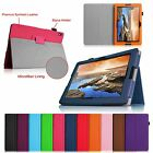 PU Leather Folio Case Stand Cover for Lenovo IdeaTab A10-70 10.1-inch Tablet