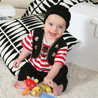 NEW! TRAVIS BABY BUCCANEER PIRATE OUTFIT FANCY DRESS UP TODDLER 3 6 12 18 MONTHS