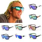 Hot Sell Men Retro Wayfarer Outdoor Eyewear Reflective Windproof Cool Sunglasses