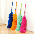Long Soft Microfiber Cleaning Feather Duster Magic Anti Dust Cleaner Handle UK