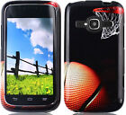 BASKETBALL Snap-On Hard Case for {T-Mobile / Metro PCS} ZTE Concord II 2 Z730