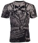 XTREME COUTURE by AFFLICTION Mens T-Shirt KILLER Skulls Tattoo Biker MMA $40 a