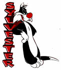 "5.5-9"" LOONEY TUNES SYLVESTER CHARACTER WALL SAFE STICKER BORDER CUT OUT"