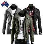 New Mens Men Casual Jacket Military Jacket coat SEXY SLIM FIT S M L