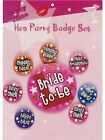 Hen Night Party Badges - Ladies Bride To Be Accessories