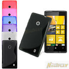 New S Line Soft TPU Silicone Skin Rubber Case Back Cover Gel For Nokia Lumia 520