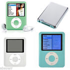 "Flash Disk Storage 8GB 1.8"" LCD Screen MP3 MP4 FM Video 3RD Gen Media Player AR"