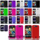 Silicone Rubber Soft Case Cover Skin For LG Connect 4G MS840 Viper 4G LS840