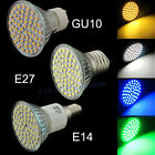 4W LED Bulb GU10 E27 E14 Day/Warm White Blue/Green light LED 3528 SMD Spot lamp