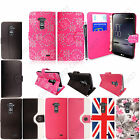 For LG G Flex New Luxury Printed PU Leather Magnetic Book Flip Case Cover+Stylus