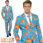 Deluxe Goldfish Stand Out Suit Mens Fancy Dress Stag Party Adult Costume Outfit