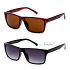 Unisex Simple Retro Sunglasses Classic Justin Style Thin Frame Squared Lens